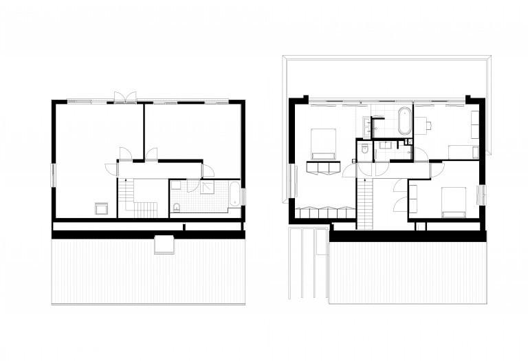 1-2-transformatie-duurzame-villa-plattegronden-bestaande-en-nieuwe-situatie-verdieping-1